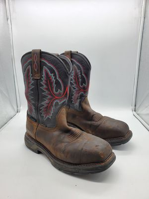 Men's Ariat Work Boots Size 9 D for Sale in Pico Rivera, CA
