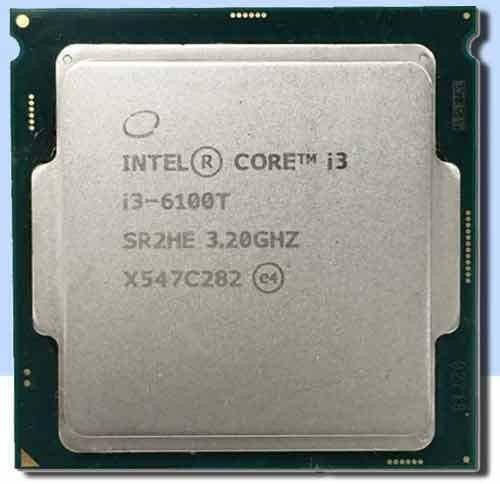 Intel CPU i3-6100T