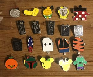 Disney Trading Pin Lot 20 random Pins hidden mickeys for Sale in Tempe, AZ