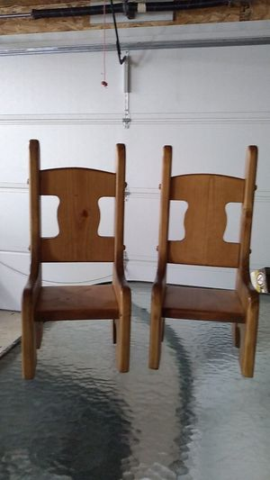 2 Wooden Doll Chairs for Sale in GERMANTWN HLS, IL