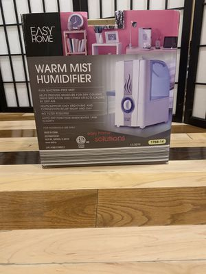 Warm mist humidifier for Sale in Franklin Park, IL