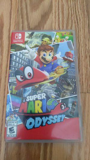 Nintendo Switch: Super Mario Odyssey for Sale in Fountain Valley, CA