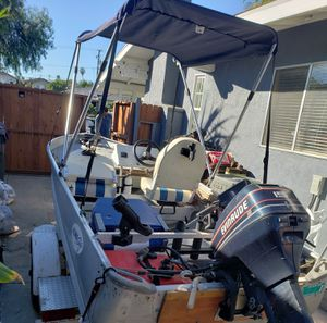 14 Foot Aluminum Boat for Sale in Long Beach, CA