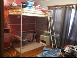 Full size loft bed frame for Sale in Lawrence, MA