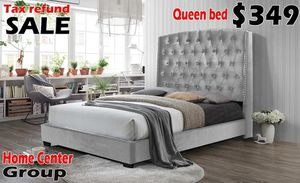 Bed frame available in queen and king for Sale in Southfield, MI