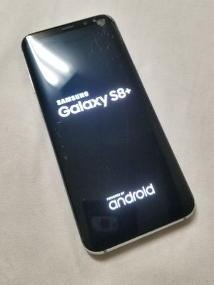Samsung Galaxy S8+ working cracked screen for Sale in Montville, OH