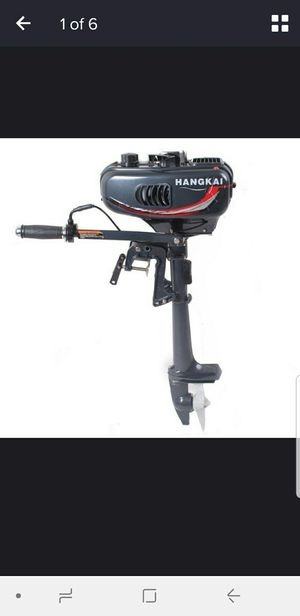 Hangkai 3.5 outboard motor for Sale in Stockton, CA