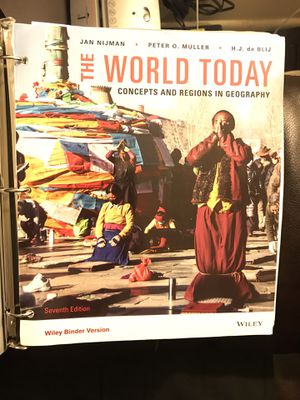 The World Today, Concepts And Regions In Geography. for Sale in St. Louis, MO