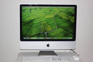 "Apple iMac 24"" Intel 2.8Ghz Desktop Computer with 4G RAM/640G HD/DVDRW for Sale in Alameda, CA"