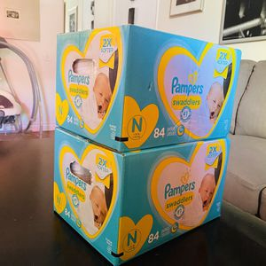 Pampers Newborn 168ct Free Delivery for Sale in San Diego, CA