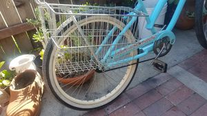 FOR SALE double basket for a Beach cruiser for Sale in Huntington Beach, CA