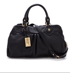 Marc Jacobs Classic Q Black Leather Bag Purse for Sale in Renton, WA
