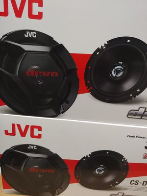 Car speakers: JVC ( 2 pairs ) 6.5 inch 2 way 300 watts car speakers Brand new for Sale in Huntington Park, CA