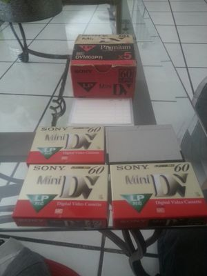 sony mini dv tapes for Sale in Los Angeles, CA