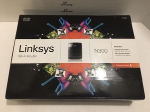 Linksys N300 WiFi router model E1200 for Sale in North Fort Myers, FL