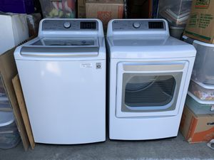 LG Nearly New Washer and Dryer for Sale in San Ramon, CA