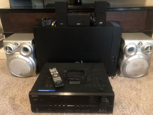 BOSE Acoustimass 10 IV Home Entertainment System with ONKYO Receiver for Sale in Peoria, AZ