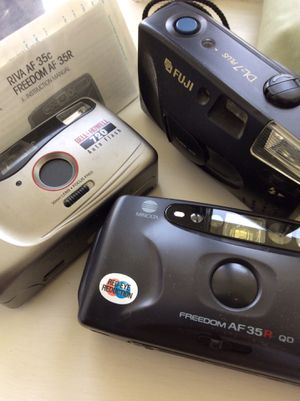 FILM CAMERAS, THREE FOR $10 for Sale in Piscataway, NJ