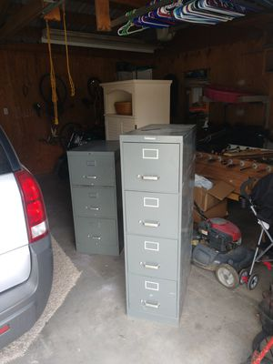 Two file cabinets 30.00 each for Sale in Pueblo, CO