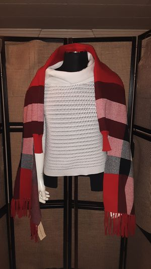 New womens Burberry poncho for Sale in Newburgh, NY
