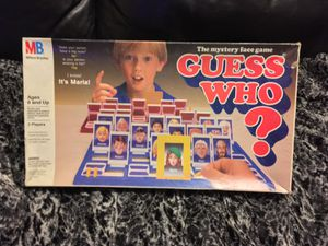 Vintage Guess Who Milton Bradley 1987 Edition 100% Complete Board Game for Sale in Seattle, WA