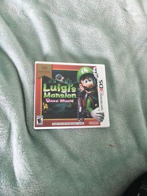 Luigi's mansion dark moon game for Sale in Escondido, CA
