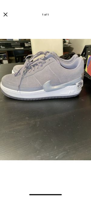 Nike Air Force 1 Jester Low Gunsmoke Gray Style BQ3163 001 Women's Size 11 for Sale in Columbus, OH
