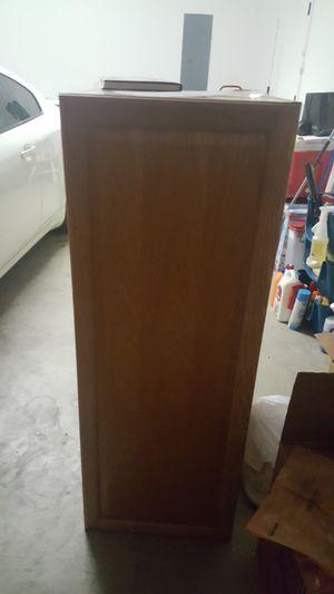 Solid Oak 3 shelf cabinet for Sale in Mt. Juliet, TN