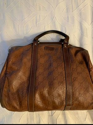 Gucci Mocha Brown Guccissima Boston Joy Bag for Sale in Glendale, AZ