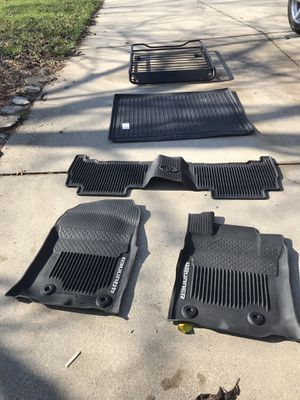4 Runner OEM full set weather mat and cargo for Sale in Frederick, MD