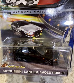 Initial D : Mitsubishi Lancer III | 1:64 Scale Diecast Collection | Jada Toys for Sale in Seattle, WA