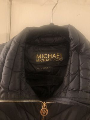 Michael KORS jacket black size XL for Sale in Hayward, CA