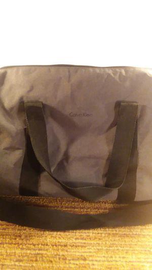 Calvin Klein Gym / Duffle Bag, Adjustable Shoulder Strap, Blue, EUC for Sale in Danvers, MA