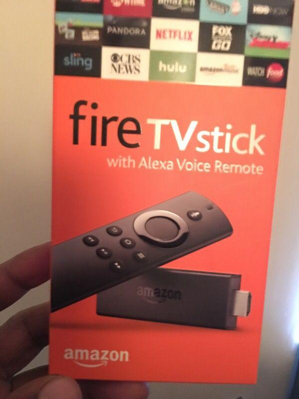 Amazin firesticks voice remote
