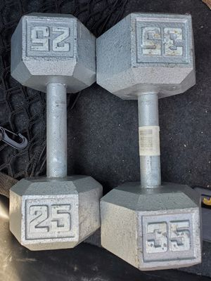 Single dumbbells for Sale in Sacramento, CA