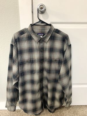 Men's Patagonia Organic Pima Cotton Long Sleeve for Sale in Denver, CO