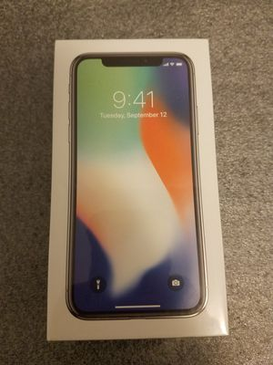 iPhone x 256gb for Sale in Brooklyn, NY