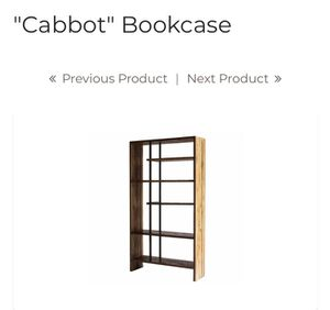 Gorgeous teak wood bookcase for Sale in Portland, OR