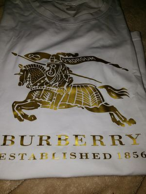 Brand New Meduim White Burberry Hoodie Size Medium for Sale in Evans City, PA