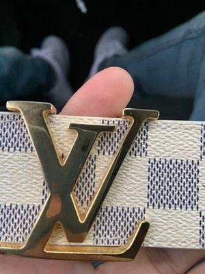 Louis Vuitton belt size 30-34 for Sale in Highland Park, MI