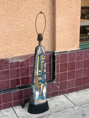 "Ceramic Mosaic Vintage ""Raymor"" Lamp for Sale in San Diego, CA"