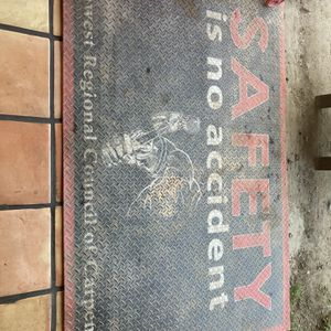 Carpenters area mat for Sale in La Puente, CA