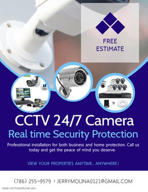 Security Camera System for Sale in Miami, FL