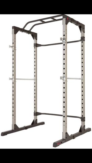 Olympic Squat Rack Cage 800lbs Weight Capacity for Olympic Barbells and Olympic Weights for Sale in Rosemead, CA