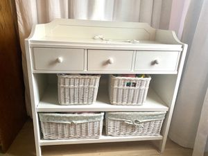 Pottery Barn White Changing Table for Sale in San Diego, CA
