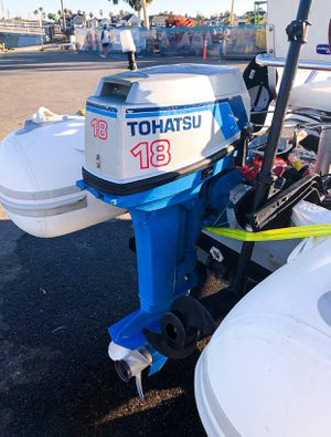 Tohatsu 18 HP Outboard Motor for Sale in Huntington Beach, CA