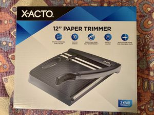 x-acto 12 inch paper trimmer for Sale in Torrance, CA