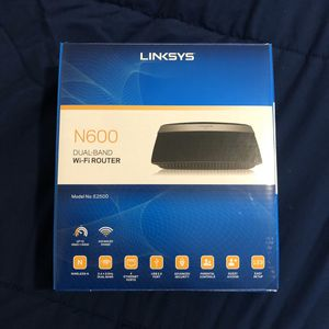 WIFI LINKSYS DUAL BAND 2.4g and 5.0g for Sale in Orlando, FL