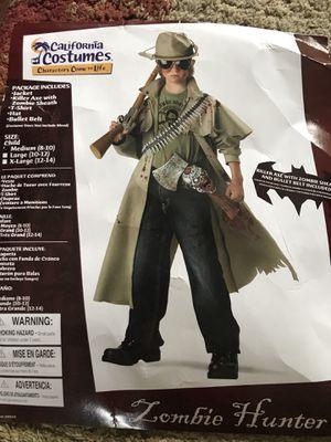 Halloween costume - Zombie Hunter kids 8-10 for Sale in Lorton, VA