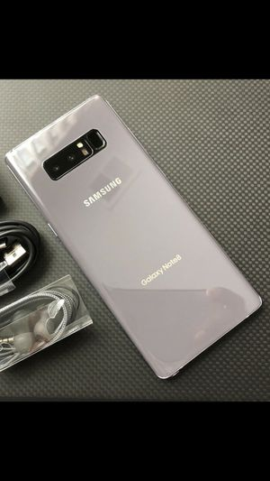 Samsung Galaxy Note 8 - just like new, factory unlocked, clean IMEI for Sale in Springfield, VA